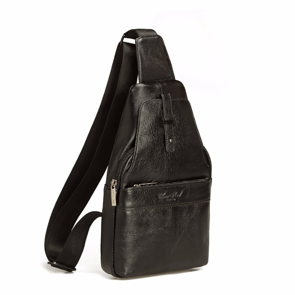 Genuine Leather Cowhide Men Sling Shoulder Messenger Bag Vintage Trend Cross Body Bags Male Single Chest Day Pack High QualityGenuine Leather Cowhide Men Sling Shoulder Messenger Bag Vintage Trend Cross Body Bags Male Single Chest Day Pack High Quality