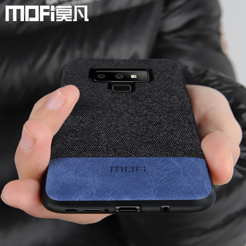 Cas MOFi original pour samsung galaxy Note 9 housse note9 retour tissu antichoc cas capas coque pour samsung note 9 cas
