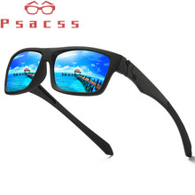 Psacss Classic Square Polarized Sunglasses Men Vintage High Quality Retro Brand Designer Male Fashion Driving Sun Glasses UV400
