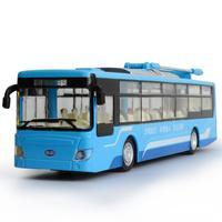 Heißen simulation 1:32 Skala Neue energie city bus BYD K9 modell diecast autos legierung zurückziehen spielzeug mit licht und sound für kinder geschenke