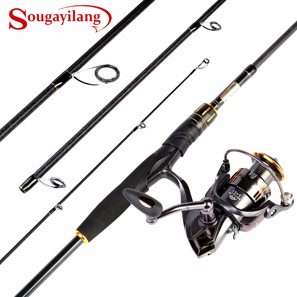 Spinning Fishing Rod Combos -Fuji O-ring Line Guides 24 Ton Carbon Fiber Spinning Fishing Pole with 13+1BB  Spinning ReelSpinning Fishing Rod Combos -Fuji O-ring Line Guides 24 Ton Carbon Fiber Spinning Fishing Pole with 13+1BB  Spinning Reel