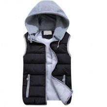 girl gilet Autumn winter Women's down polo vest waistcoat lovers design casual Cotton-padded jacket coat Women's outerwear vest