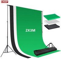 2X3m Photo Background Fotografia Green Screen Photography Backdrops Chroma Key White Backdrop Black Backgrounds For Photo