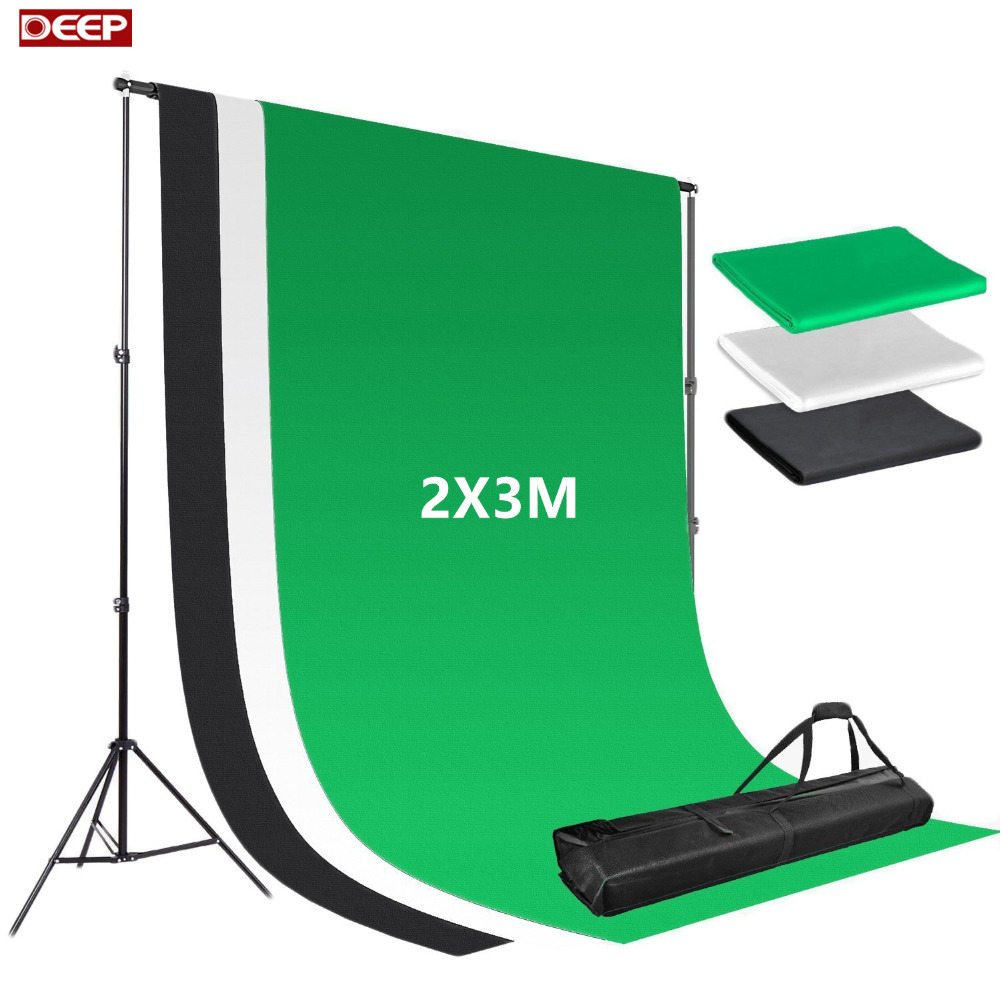 2X3m Photo Background Fotografia Green Screen Photography Backdrops Chroma Key White Backdrop Black Backgrounds for Photo Studio ashanks photography backdrops white screen 3 6m photo wedding background for studio 10ft 19ft backdrop for camera fotografica
