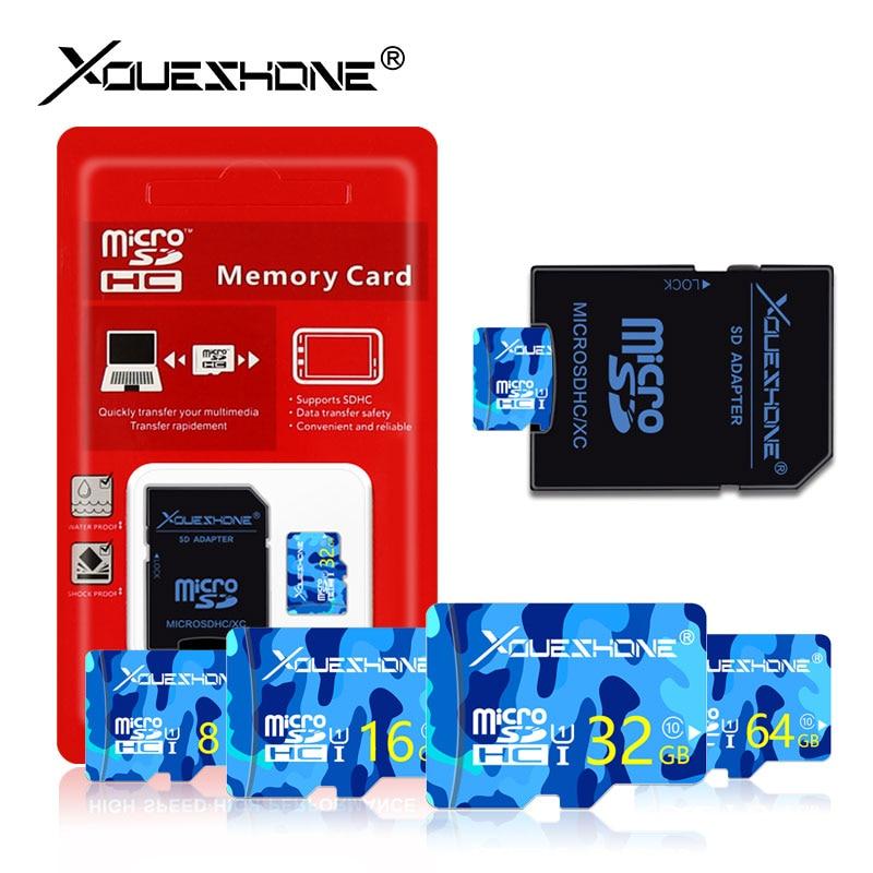 Crazy hot carte sd memory card 32GB micro sd card 8GB 16GB 32GB 64GB 128GB C10 tf card 4GB cartao de memoria with free adapter 1