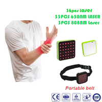 ATANG 2018 New Multifunctional 36PCS Cold Laser Soft Tissue Wound Healing Pain Relief Laser Therapy Insturment Lose Weight+Gift