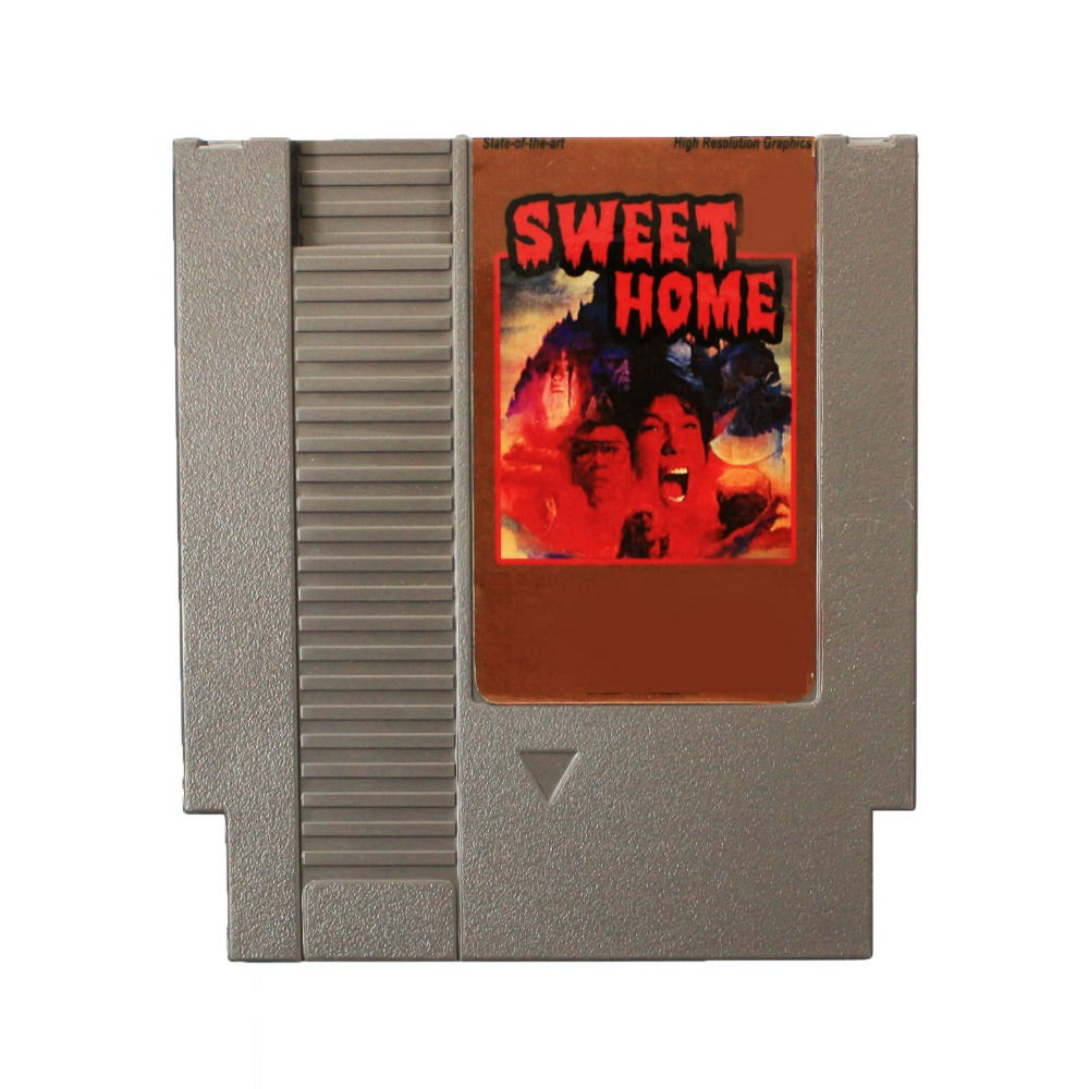 Hot Sale!72 Pins 8 Bit Game Card - Sweet Home Free Shipping