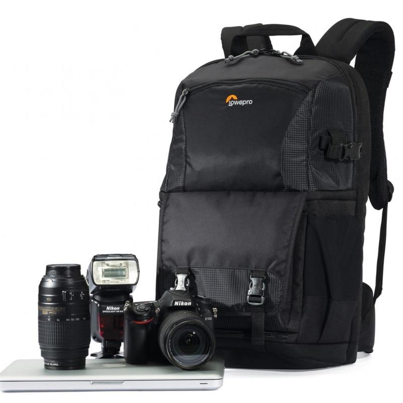 Genuíno lowepro fastpack bp 250 ii aw dslr multifunções pacote de dia 2 design 250aw digital slr mochila nova câmera mochila