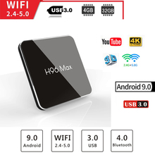H96 Max x2 TV inteligente Android 8.1 Amlogic S905X2 LPDDR4 Quad Core 4 GB 32 64 2,4G GHz Wifi K Set tv box android