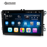 9001 2 Din Android 6.0.1 Car Audio Radio Player Quad Core 9 Inch GPS WiFi Multimedia Player Support B6 Support For VW