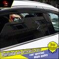 4 Pçs/set estilo do carro Proteção Contra Chuva Escudo Viseira do windows Para LEXUS NX200 NX300h NX200t 2015 2016 Acrílico Da Janela Chuva Viseira