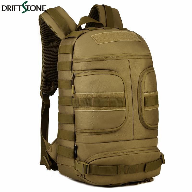 Sac à dos tactique homme armée sacs d'assaut militaire 35L Nylon imperméable extérieur EDC Molle Pack pour Trekking Camping sac de chasse