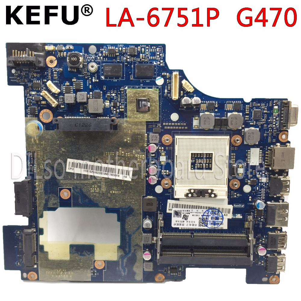 KEFU LA-6751P motherboadrd Lenovo G470 PIWG1 LA-6751P laptop Anakart G470 orjinal tetsted anakart PMKEFU LA-6751P motherboadrd Lenovo G470 PIWG1 LA-6751P laptop Anakart G470 orjinal tetsted anakart PM