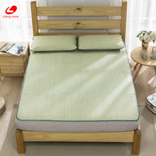 Lifeng home Summer Straw mat Cool bed mat Natural Straw Mattress Cover 180*198cm fitted bed protection pad green rubber sheet