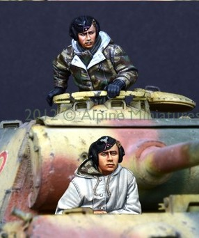 1:35     German Panther Crew Set (2 Figures)