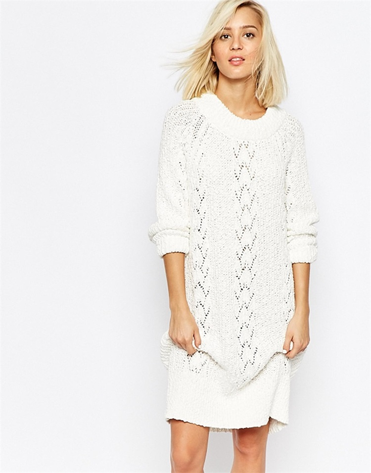 Popular White Sweater Dresses-Buy Cheap White Sweater Dresses lots ...