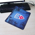CHL hockey sports mascot KHL 6th season logo Rectangle Silicon Durable Mouse Pad Computer Mouse Mat 180X220X2MM 250X290X2MM