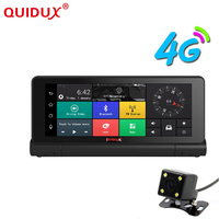 QUIDUX 3G/4G Car DVR Dash Camera 6.86 Car Truck GPS Navigation Android 5.0 GPS Navigator FHD 1080P Dual Lens Vehicle gps maps