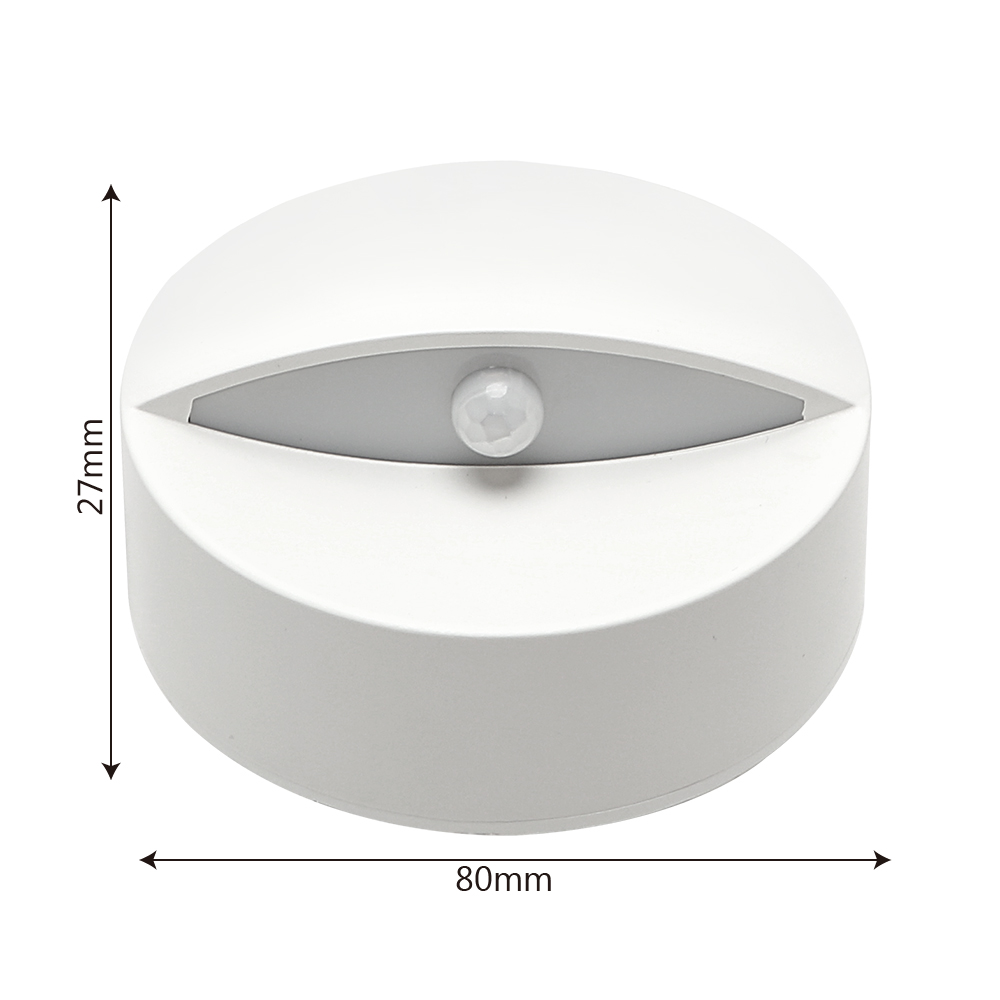 ITimo PIR Infrared Motion Sensor LED Night Light Wall lamp Smart Light Control for Baby Sleeping Home Bedroom Lights