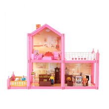 Doll House Furniture Dollhouse Plastic Mini Diy Miniature Accessories ChildrenS Toys For Children Kit Tiny Scale 1/12