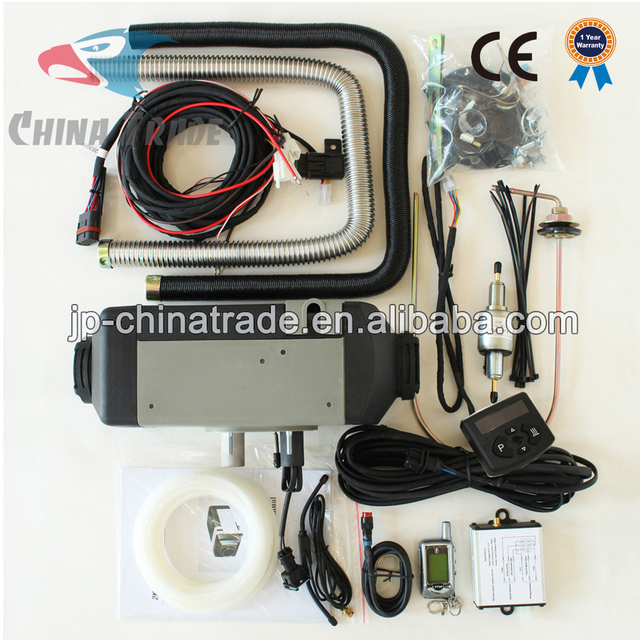 With Remote Controller Air Parking Heater 2KW 12V Diesel for truck boat bus car caravan camper with competitive price