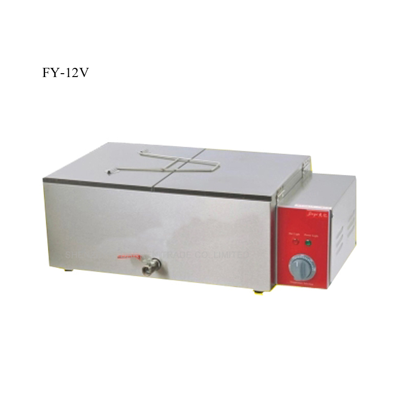 ФОТО 1PC New and high quality FY-12V Electric Deep Fryer Commercial Deep-Fried Dough Sticks frying machine