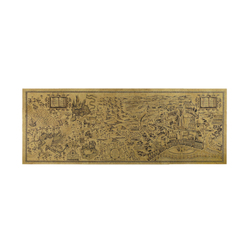 O Envio gratuito de Harry Potter Magia Mapa Do Mundo Famosa Vista Cafe Bar Cartaz de Papel Kraft Retro Poster Pintura Decorativa 72x26 cm