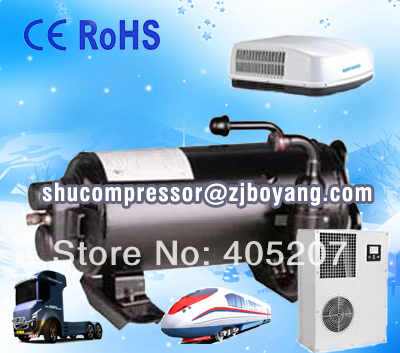 R410a compresor rotativo horizontal roof mounted air-conditioner compressor for RV caravan bench air conditioner r410a 9000btu horizontal compressors rv rooftop caravan air conditioner