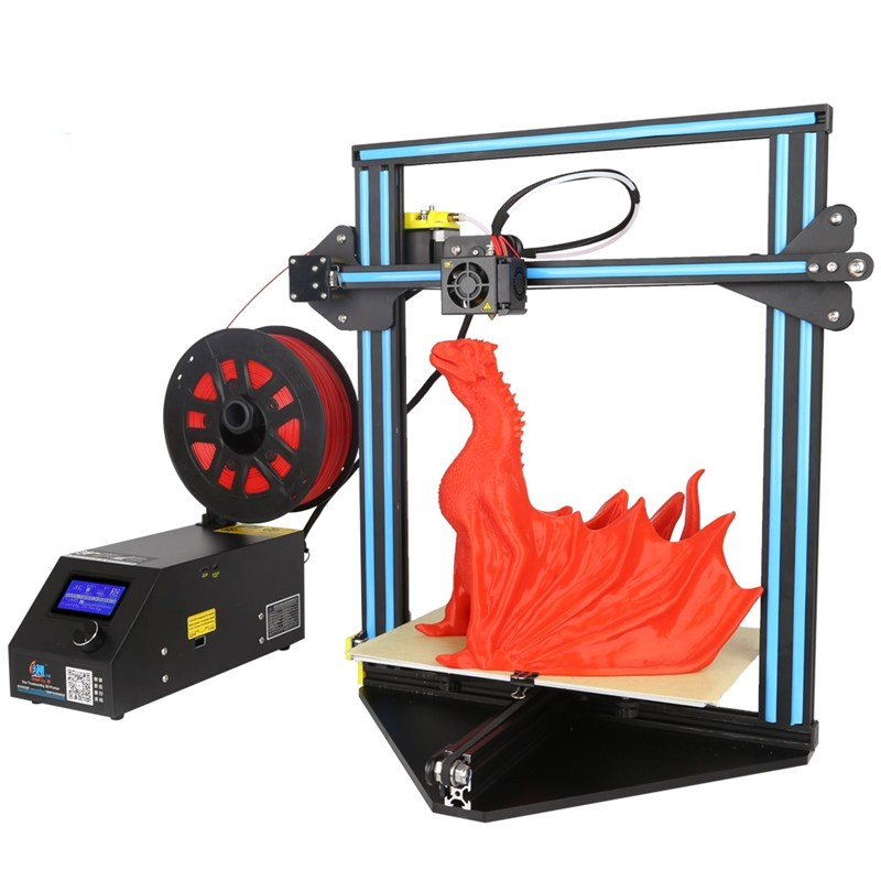 2017 Newest Creality 3D CR-10 Mini DIY 3D Printer Kit Support Resume Print 300*220*300mm Printing Size 1.75mm 0.4mm Nozzle the resume kit