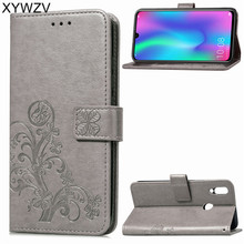 Cover Huawei Honor 10 Lite Case Luxury Flip Wallet Phone Bag For Back ^