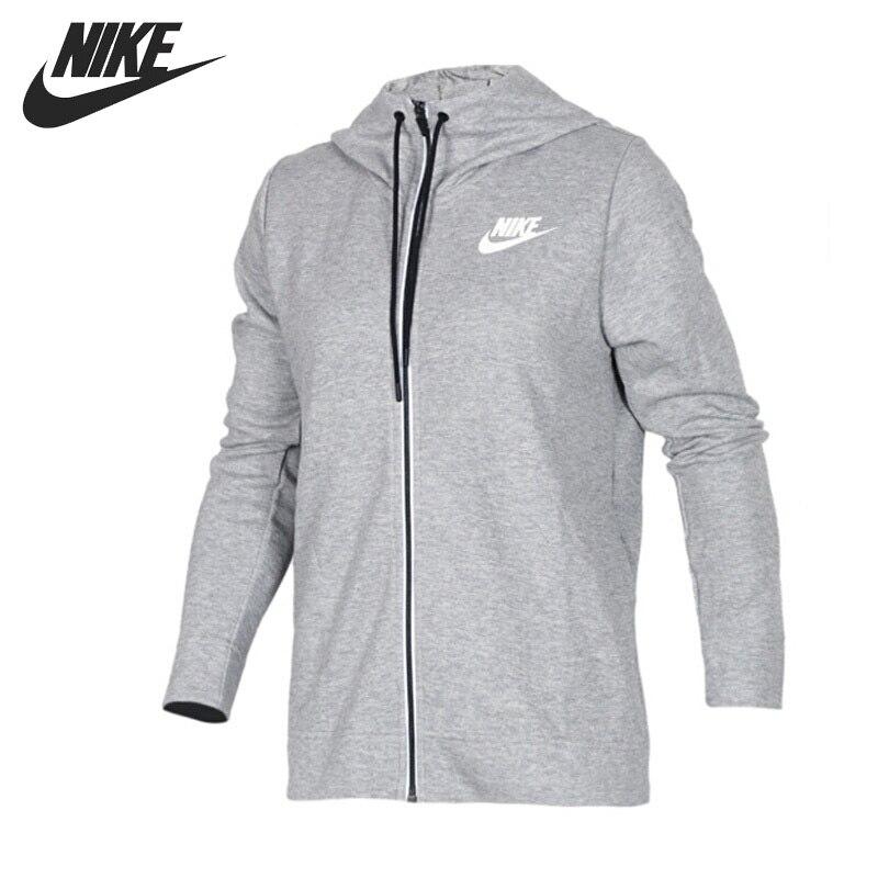 Original New Arrival 2017 NIKE AS W NSW AV15 HOODIE FZ Women's Jacket Hooded Sportswear original nike as nike aw77 ft fz hoody air men s jacket 642890 010 658 hoodie sportswear free shipping
