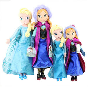 Toys For Kid Disney Frozen Anna Elsa Dolls Princess