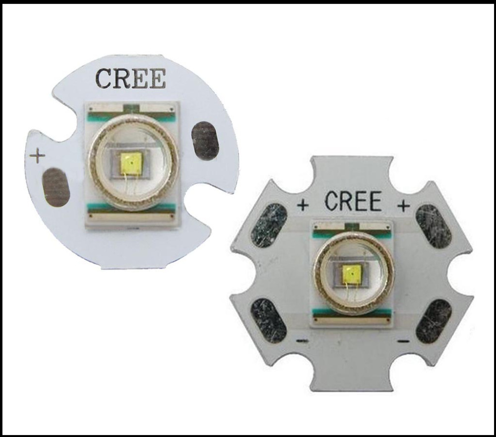 Original Cree XLamp XR-E Q5 Warm / Cold White 1W-3W Flashlight LED Light With 20mm/16mm /12mm Base