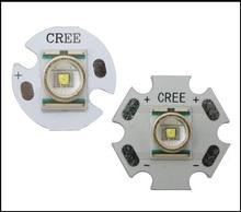 цена на Original Cree XLamp XR-E Q5 Cold Warm White 1W-3W flashlight LED Light With 20mm/16mm Base