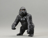 Animal model of genuine bulk Blip Toys black African Gorilla Super fine workmanship