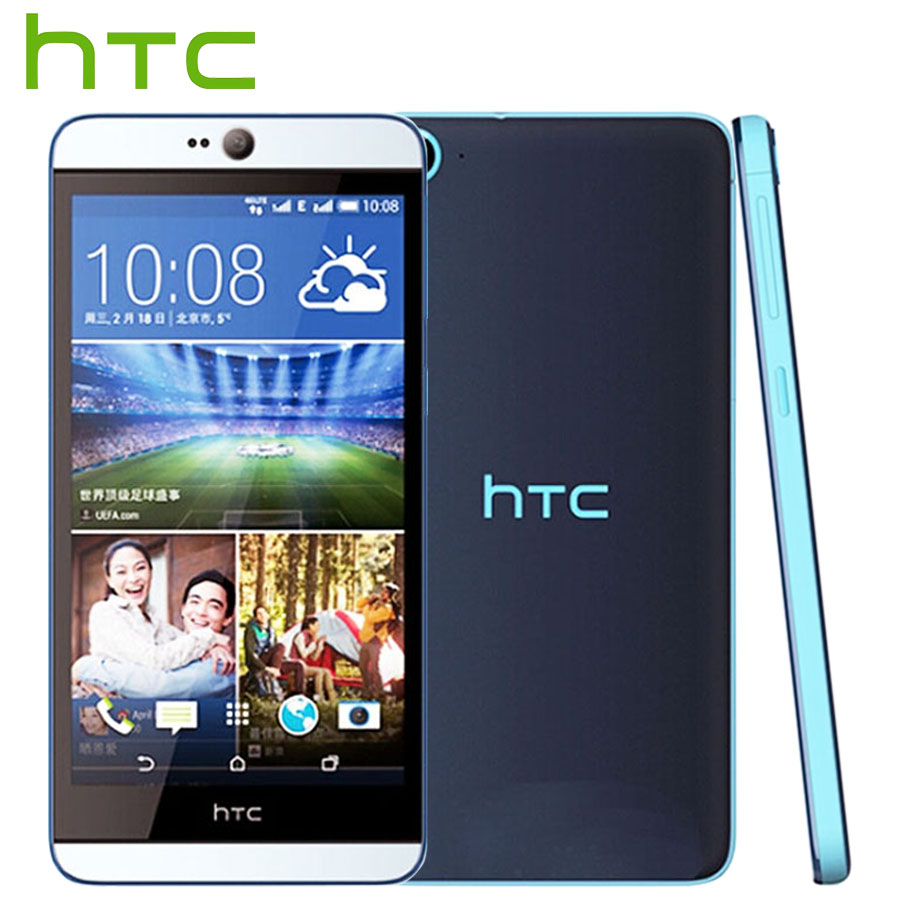 Brand New HTC Desire 826 826w 4G LTE Mobile Phone Snapdragon 615 Octa Core 2GB 16GB 5.5 inch Dual SIM 13M 2600 mAh Smart phone