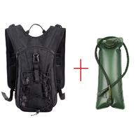 Outdoor Hydration Backpack Cycling Water Bladder Bag Military Camping Camelback Water Bag Nylon Camel With 3L Bladder Water Pack