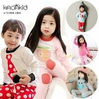 Winter Baby Boys Girl Pajamas Sets Kids Cartoon Sleepwear Baby Boys Cotton Clothing Lovely T Shirts