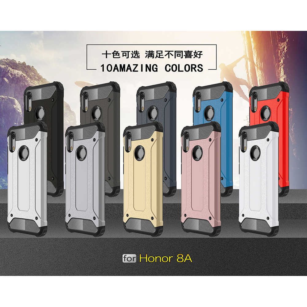 Antiurto Armatura Coque Copertura 6.09For Huawei Y6 2019 Posteriore Del Telefono Per Il Caso di Huawei Y6 Prime 2019 Honor 8A Coque Copertura caso