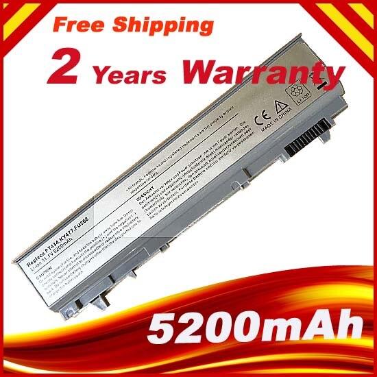 цена на Laptop Battery For Dell Latitude E6400 E6410 E6500 E6510 Precision M2400 M4400 M4500 M6400 M6500 1M215 312-0215
