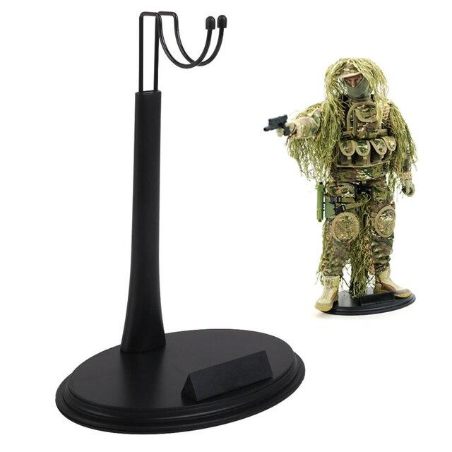 2 1/6 U-forme réglable en plastique présentoir avec plaque signalétique pour figurine modèles jouets Sideshow Action figurine accessoires