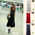 Summer female plus size modal one-piece dress loose casual medium-long layered dress maternity tank dress beach dress