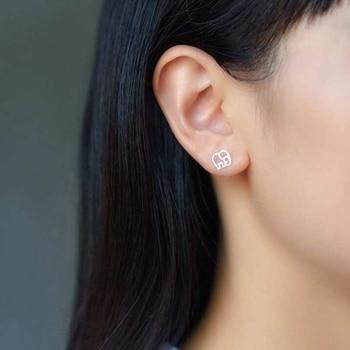 Simbol of Love Tiny Elephant Stud Earrings5