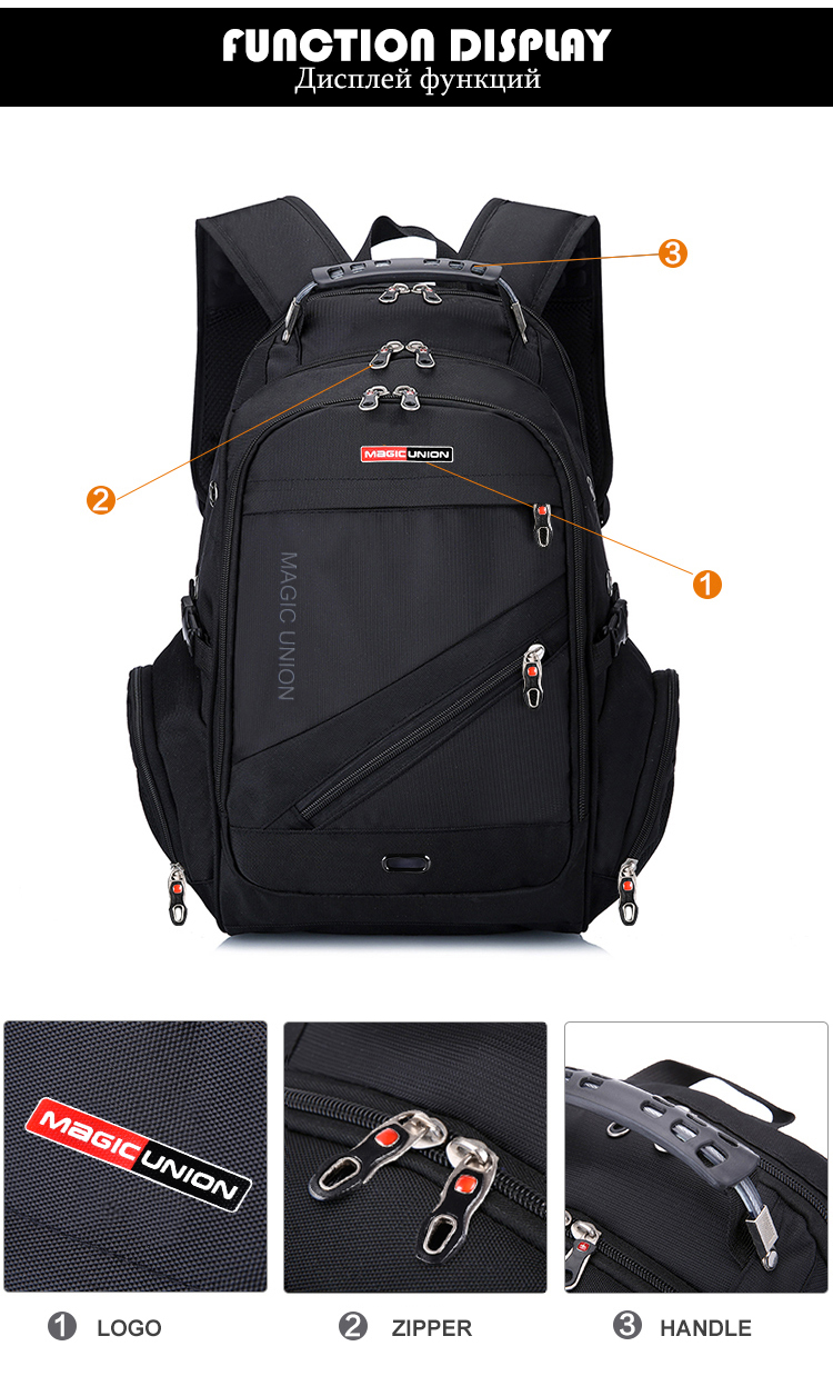 8909c47c8169 HTB1APgKXmBYBeNjy0Feq6znmFXao MAGIC UNION Children School Bags boy  Backpacks Brand Design Teenagers Best Students Travel Usb Charging