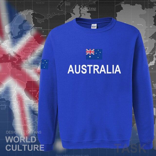 Commonwealth of Australia hoodie men sweatshirt sweat new streetwear clothing jerseys tracksuit 2017 nation Australians flag AU 2