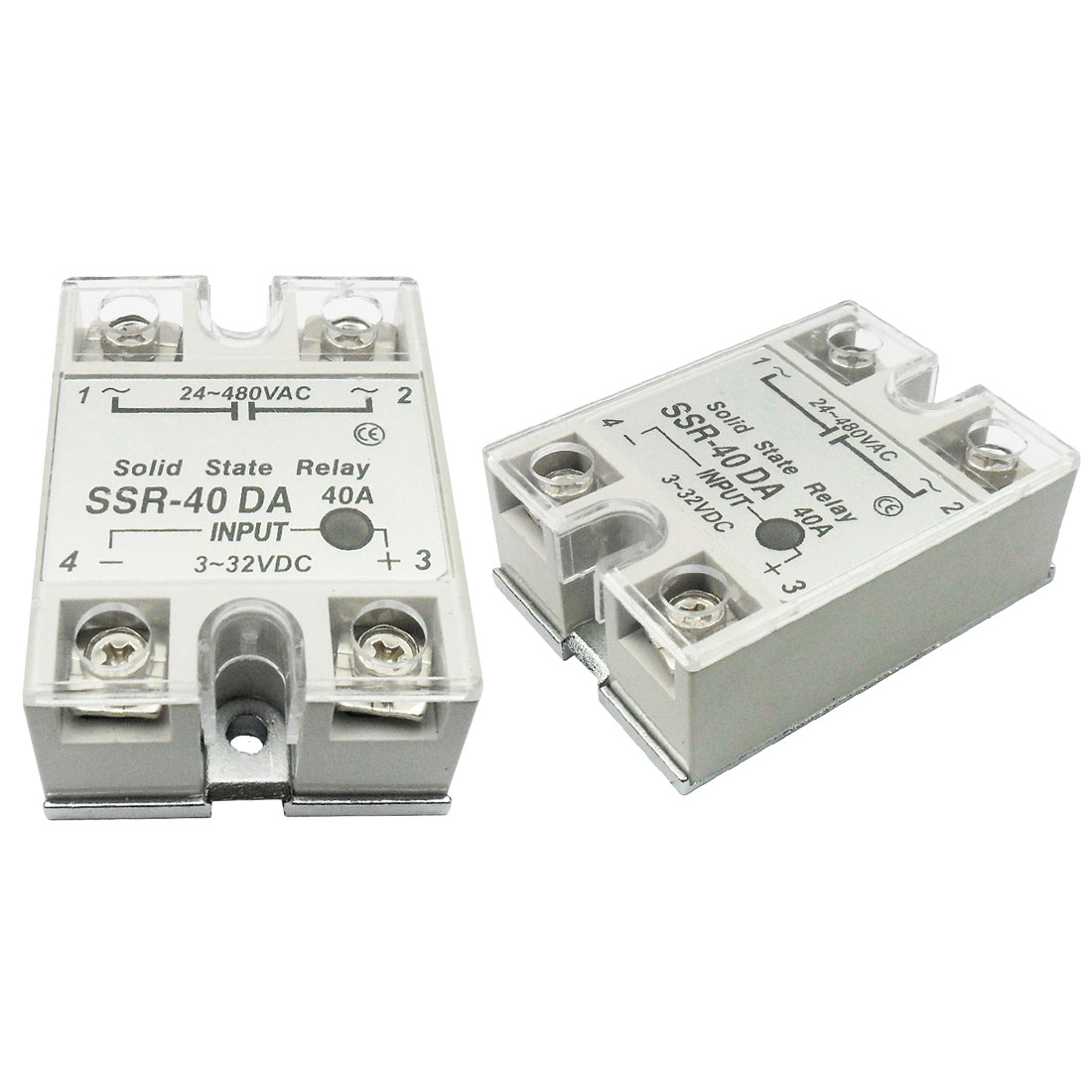 цена на Precision control solid state relay SSR 10DA 25DA 40DA actually 3-32V DC TO 24-480V AC 10A 25A 40A Relay High-quality