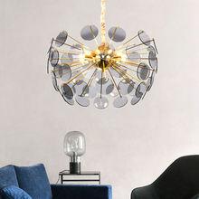 Современные роскошные светодиодный ные люстры светильник с золотым