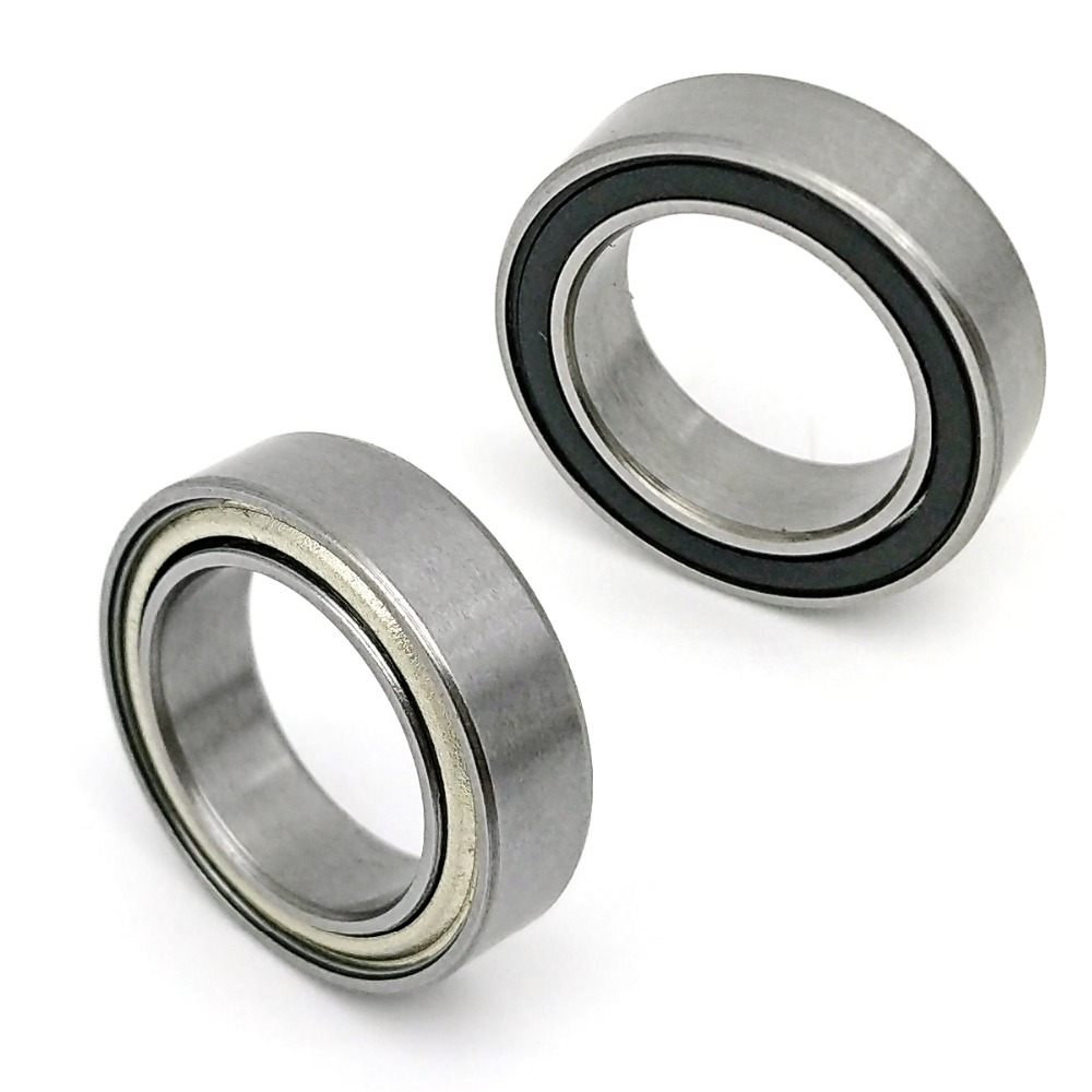 1PCS DALUO Bearing 6700 10x15x4 6700ZZ 6700Z <font><b>6700RS</b></font> 6700-2RS Single Row Deep Groove Ball Bearings image