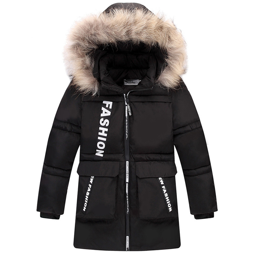 2017 Boys Winter Jackets Coats Fashion Hooded Warm Winter Jacket For Boys Kids Cotton Outerwears Coats for-10degree Boys Parkas 2017 fashion boy winter down jackets children coats warm baby cotton parkas kids outerwears for