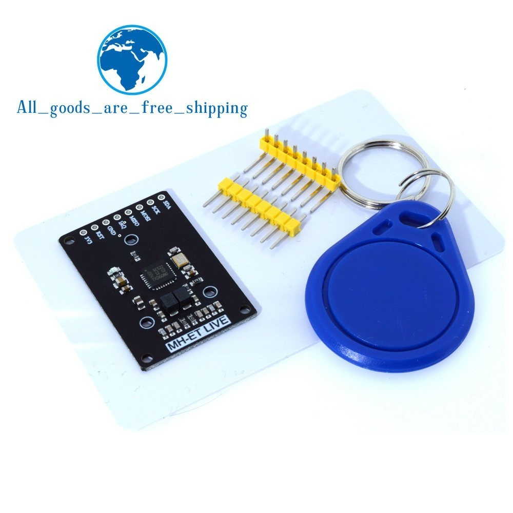 RFID module RC522 mini Kits S50 13.56 Mhz 6cm With Tags SPI Write & Read for arduino uno 2560-in Integrated Circuits from Electronic Components & Supplies